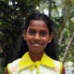 4-A. Suja Princy (11 ans)