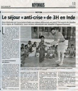 Courrier Picard 05 09 2009 mail
