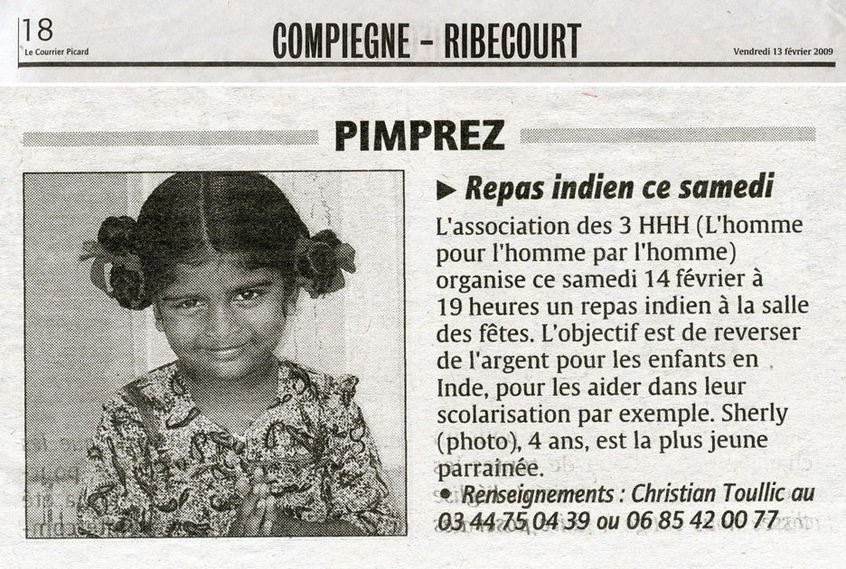 Courrier Picard 13 02 2009Mail
