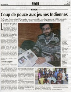 Courrier Picard 19 01 2009