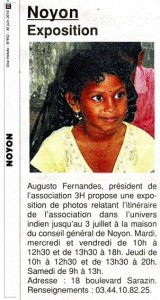 Merci à nos amis de la presse (Courrier Picard, Oise Hebdo et Parisien) d'avoir annoncé l'exposition