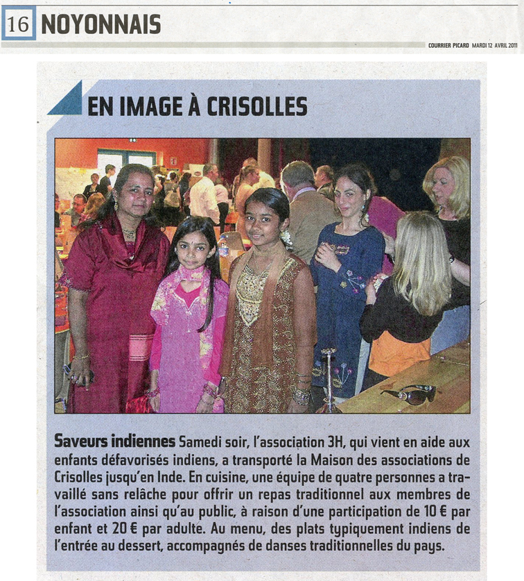 Courrier Picard 12 04 2011