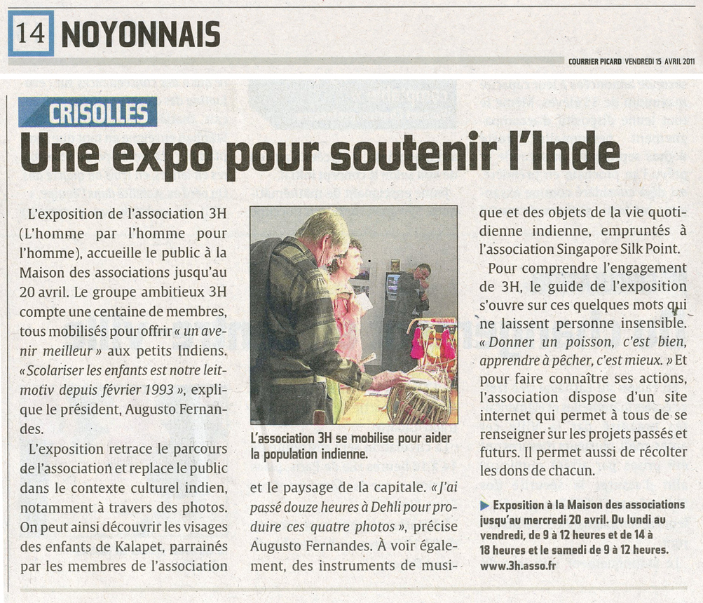 Courrier Picard 15 04 2011 mail
