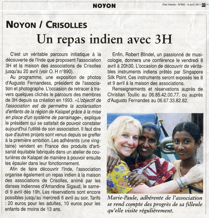 Oise Hebdo - N°892 06 04 2011 mail