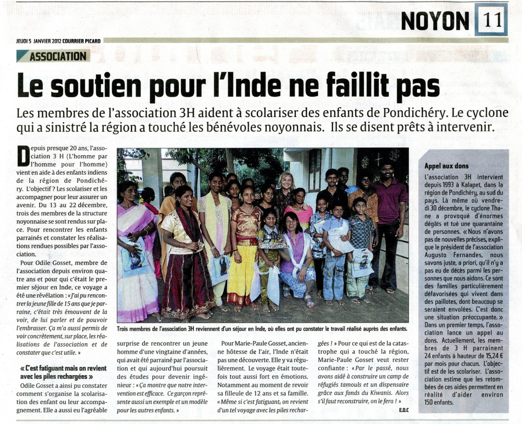 Courrier Picard 05 01 2012 mail