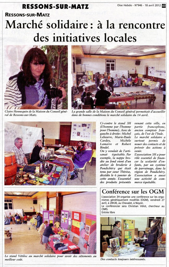 Oise Hebdo - N°946 (page 43) 18 04 2012 (mail)